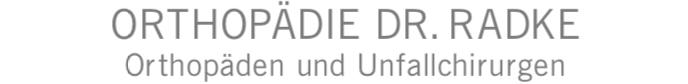 orthopaedie dr. radke muenchen Logo